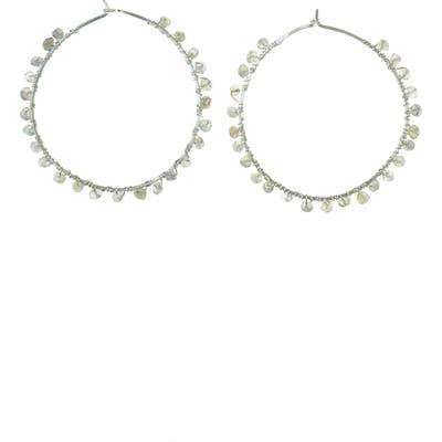 Nashelle Cascade Hoop Earrings