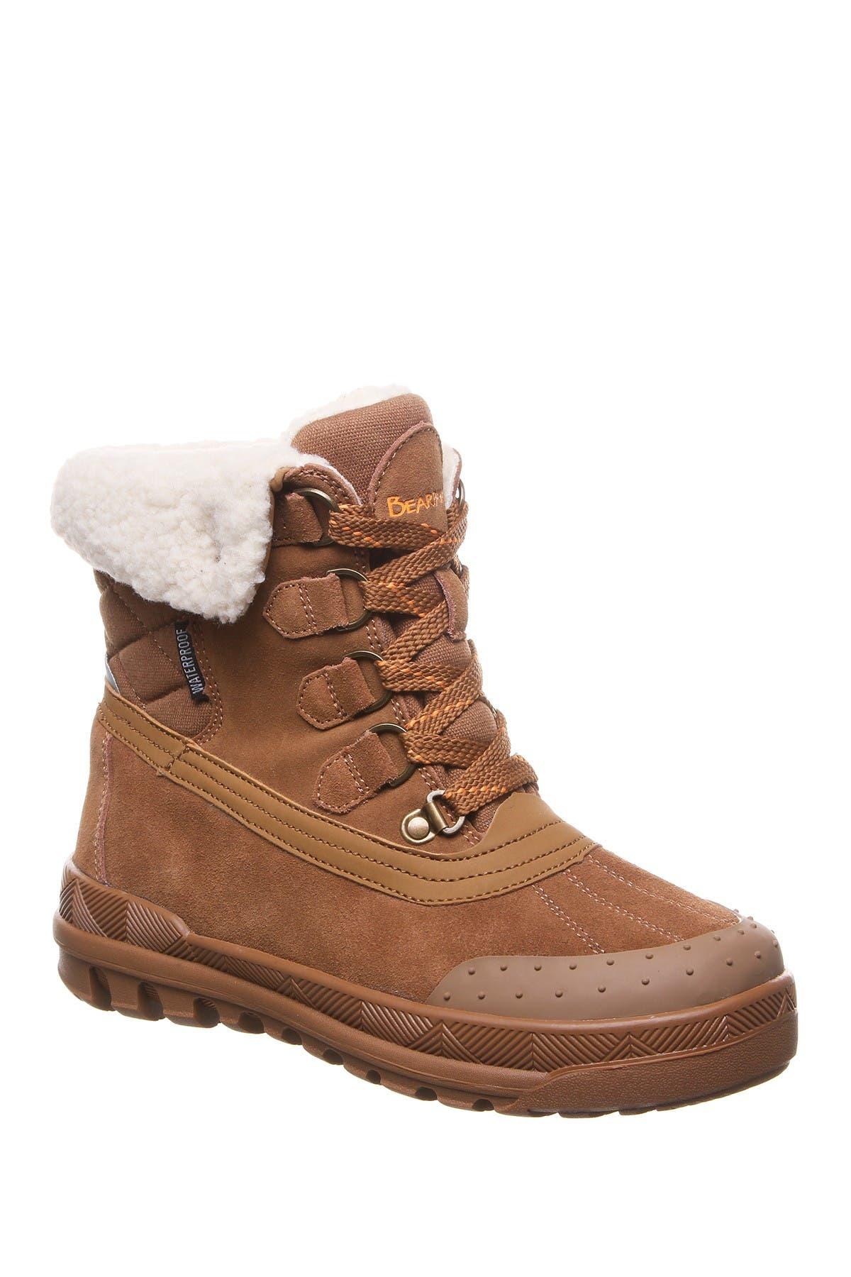 Inka Genuine Sheepskin Footbed Boot