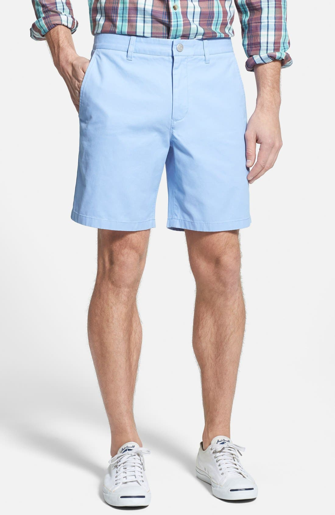 ,                             Washed Chino Shorts,                             Main thumbnail 55, color,                             403