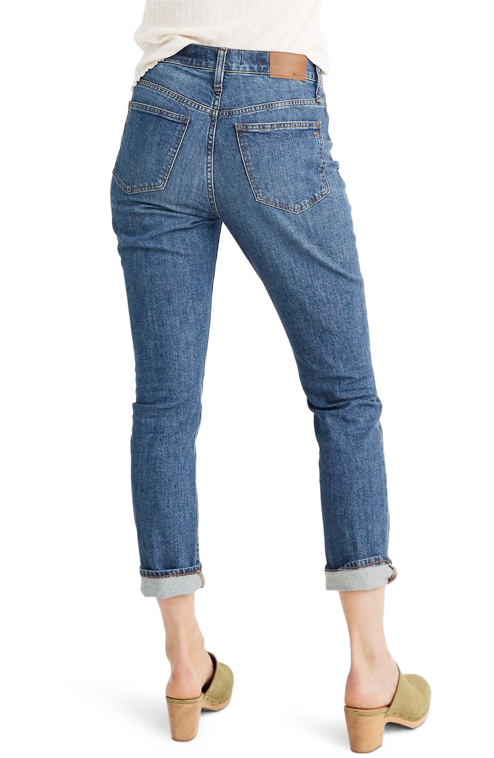 0be201649e0870 Madewell The High Waist Slim Boyjean Boyfriend Jeans (Evangeline) |  Nordstrom