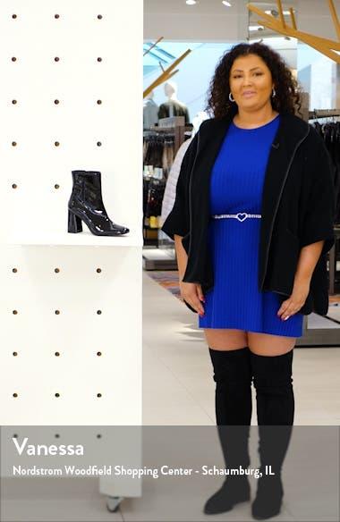 Taryn Square Toe Boot, sales video thumbnail