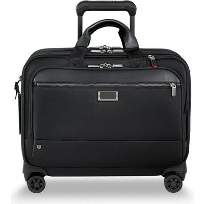 Briggs & Riley @work Large Wheeled Briefcase - Black