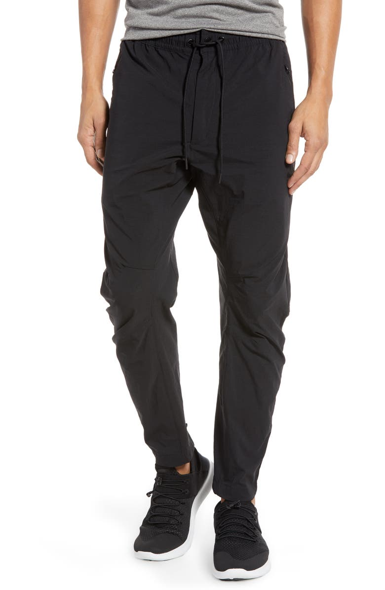 NIKE NSW Woven Track Pants, Main, color, BLACK/ BLACK