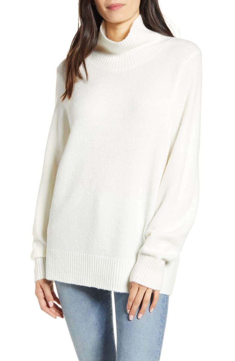 TREASURE & BOND Seasonal Pullover Sweater, Main, color, IVORY
