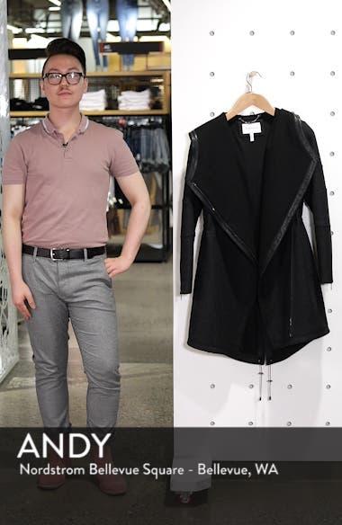 Asymmetrical Zip Hooded Parka, sales video thumbnail