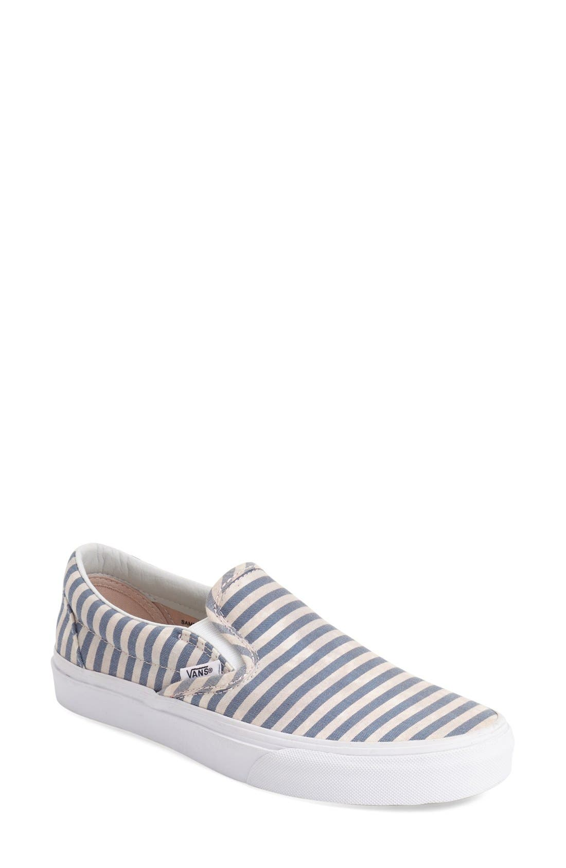 ,                             Classic Slip-On Sneaker,                             Main thumbnail 356, color,                             410