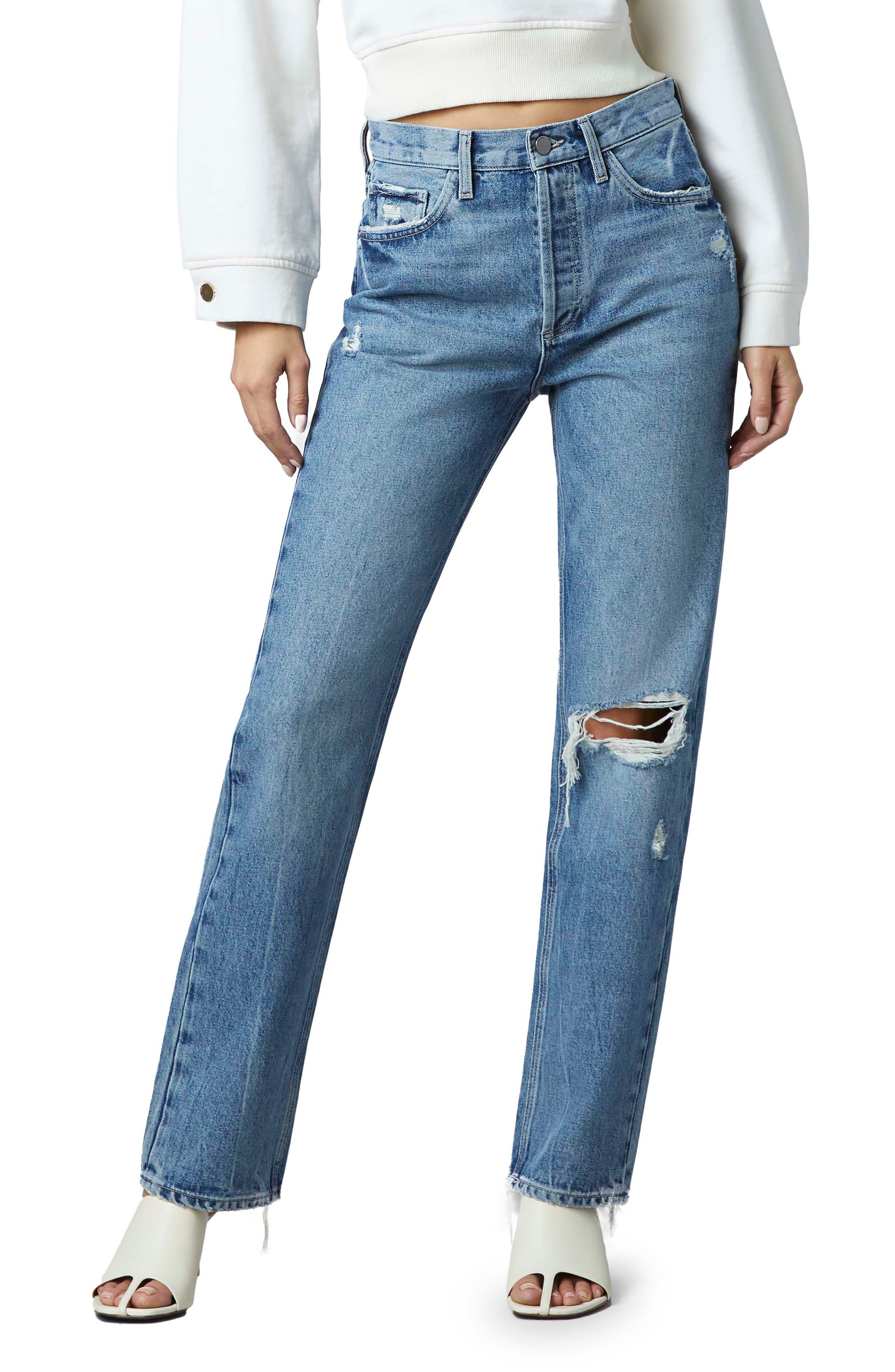 1961 Emilie Ultra High Waist Straight Leg Jeans