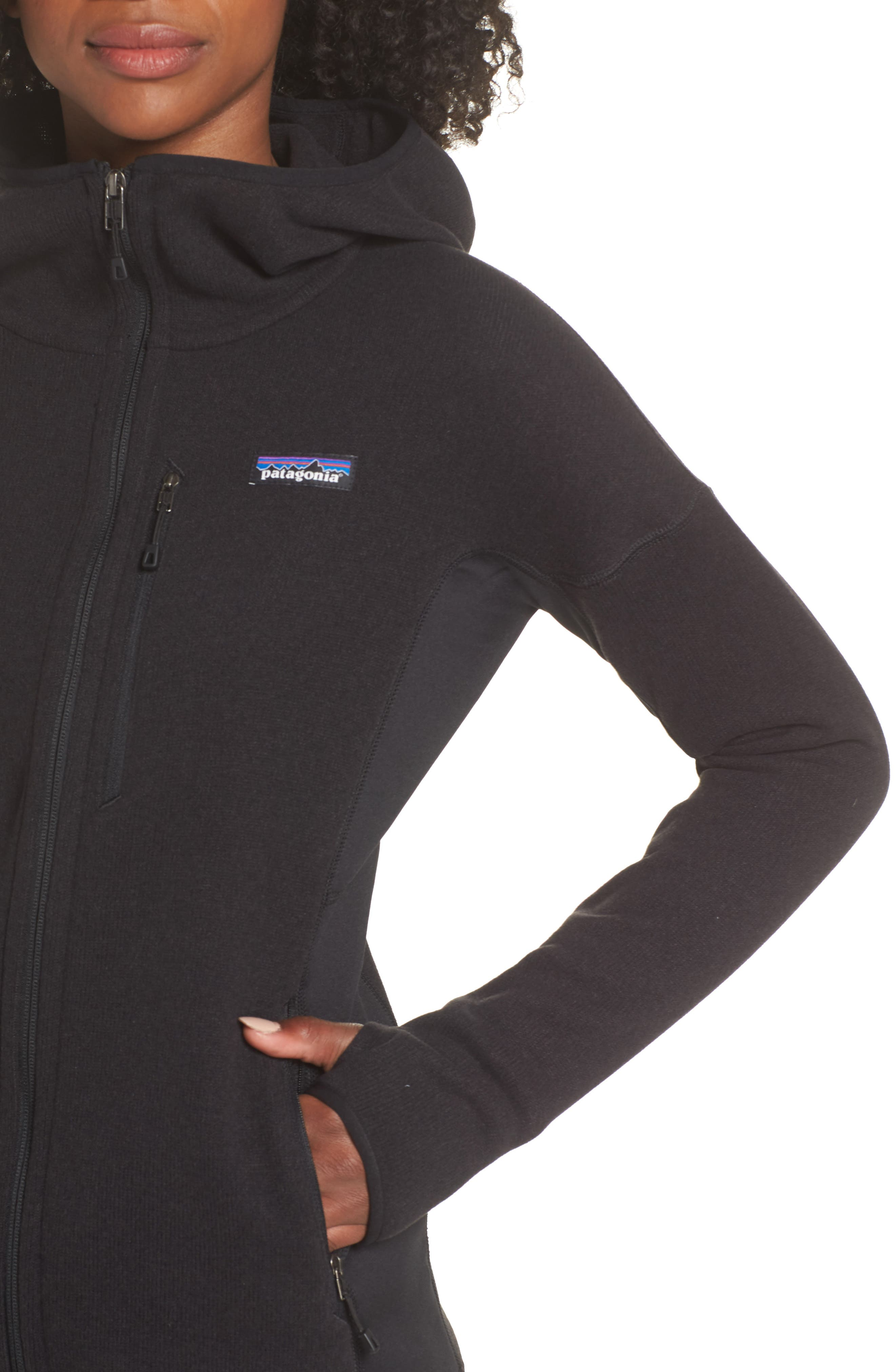 ,                             Performance Better Sweater Hoodie,                             Alternate thumbnail 5, color,                             001