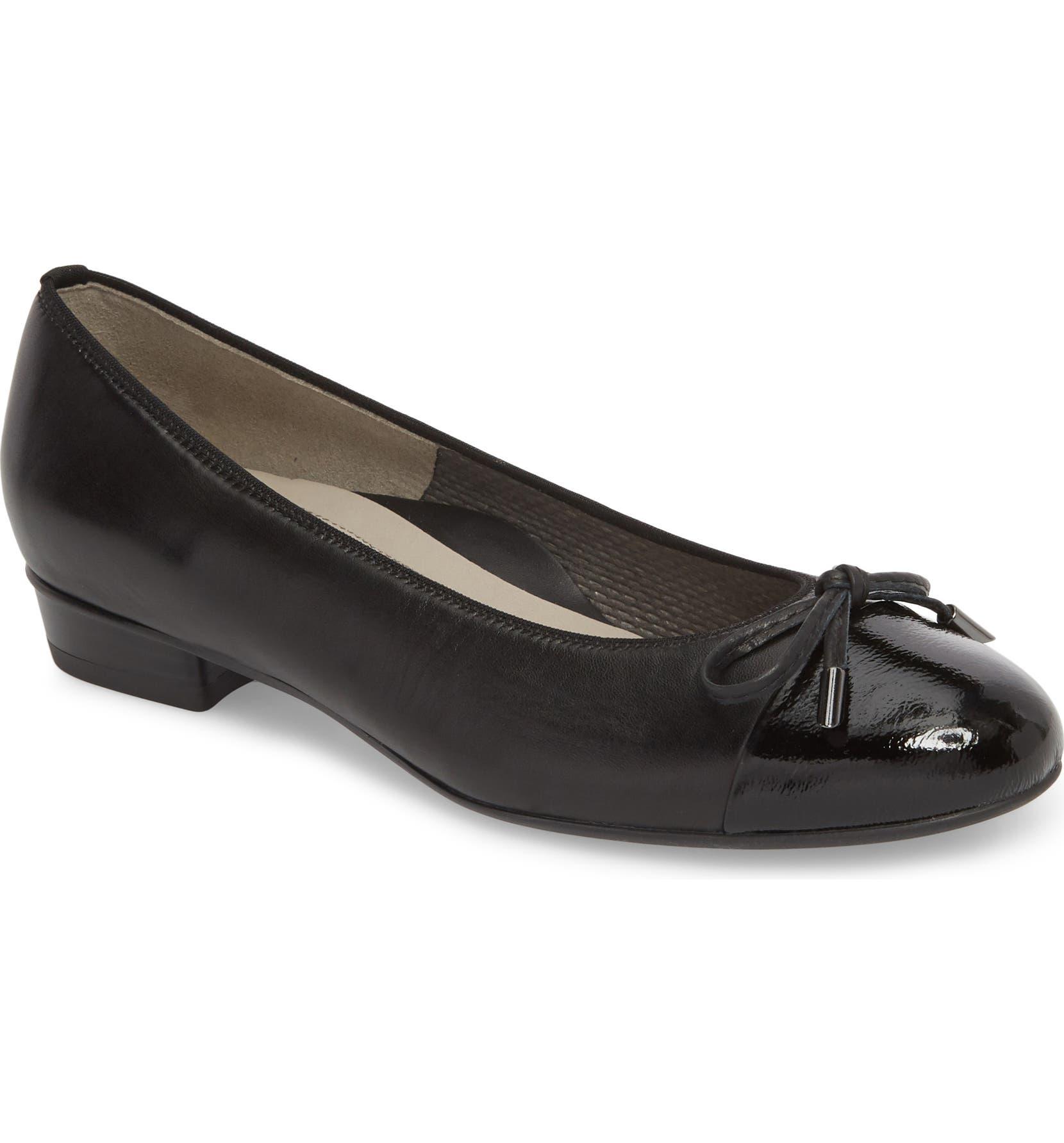 0c1516966 ara 'Betty' Cap Toe Flat (Women) | Nordstrom