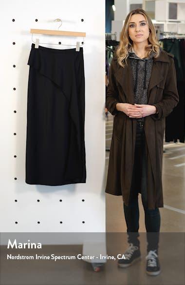 Bias Cut Satin Midi Skirt, sales video thumbnail