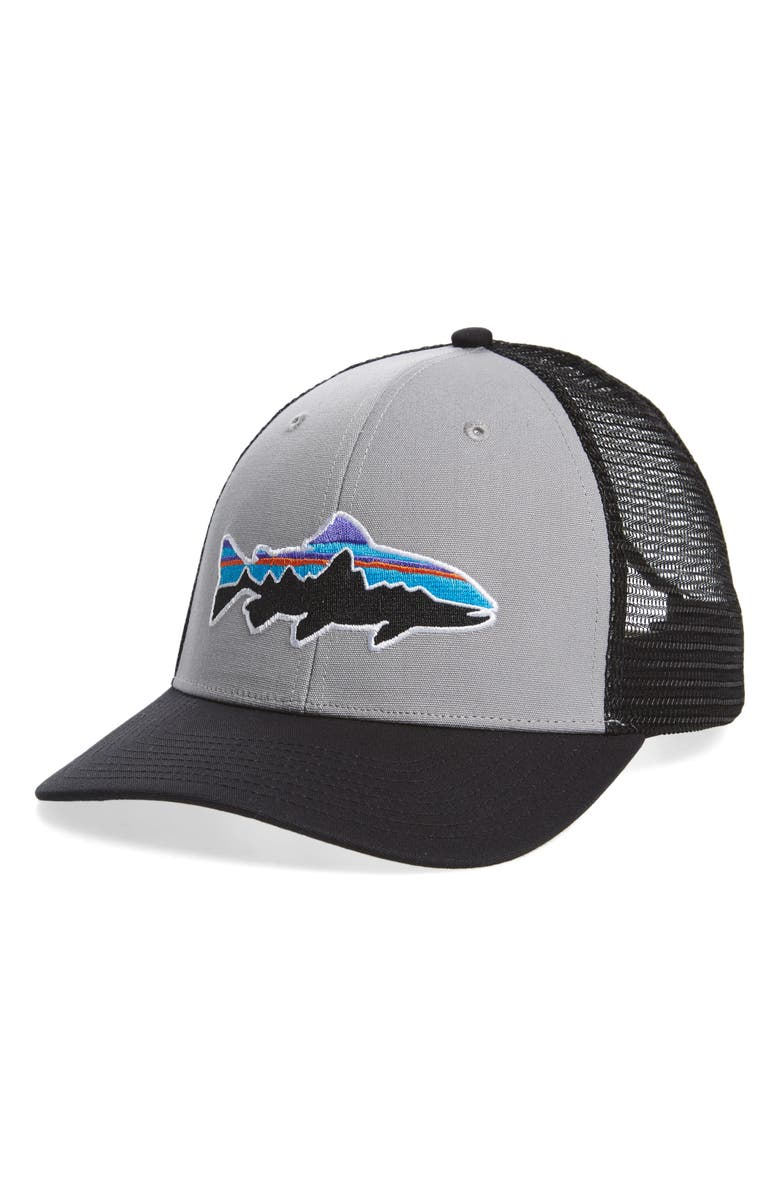 PATAGONIA Fitz Roy Trout Trucker Hat, Main, color, 024