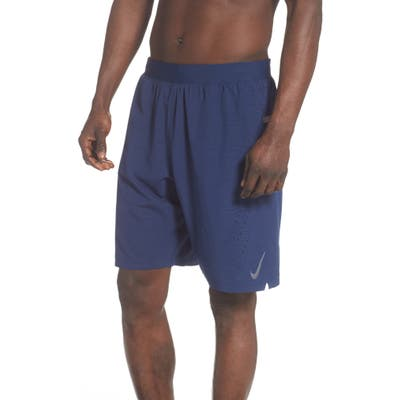 Nike Geo Emboss Volley Shorts, Blue