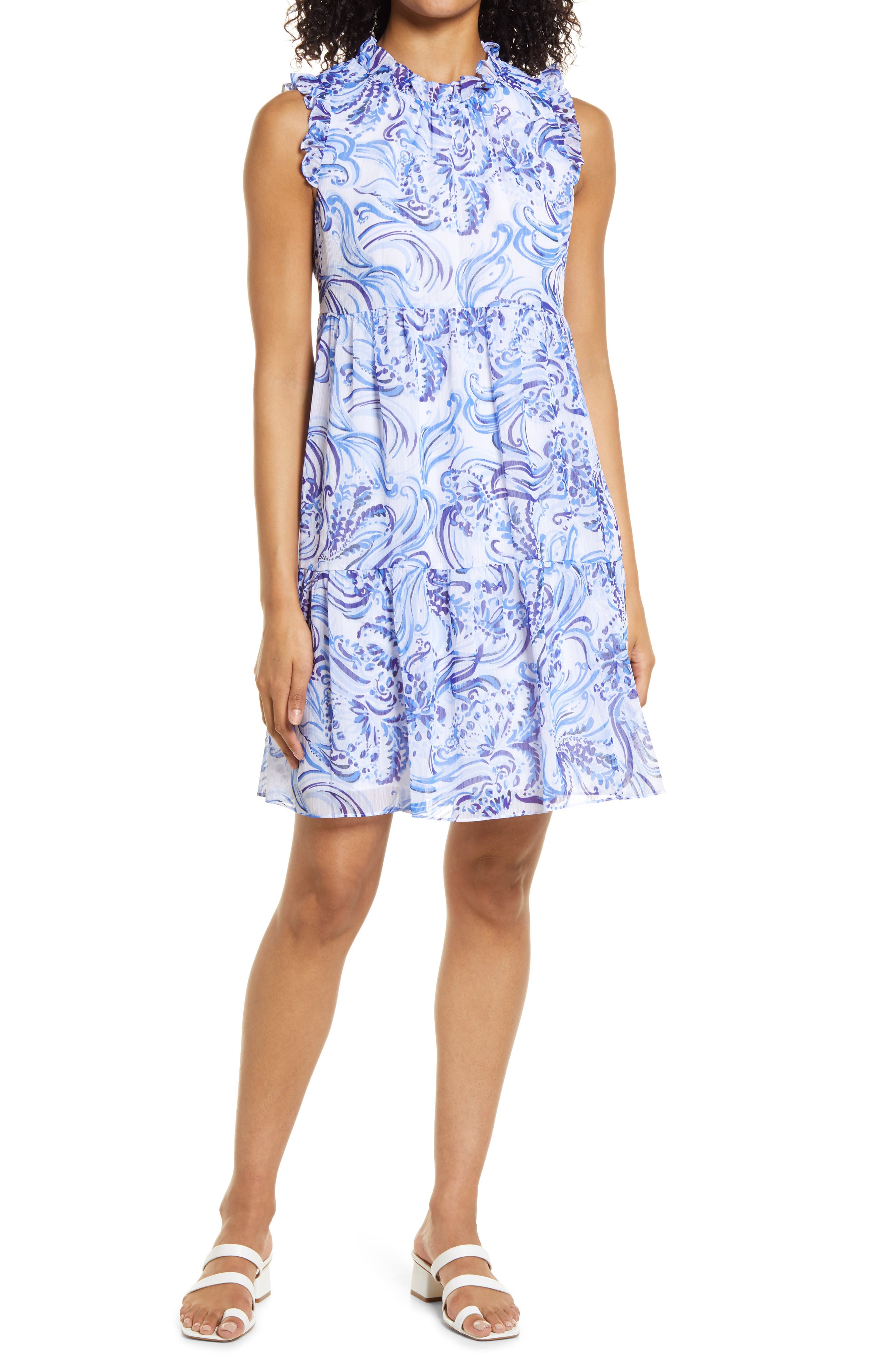 Women's Lilly Pulitzer Jazzy Fit & Flare Dress