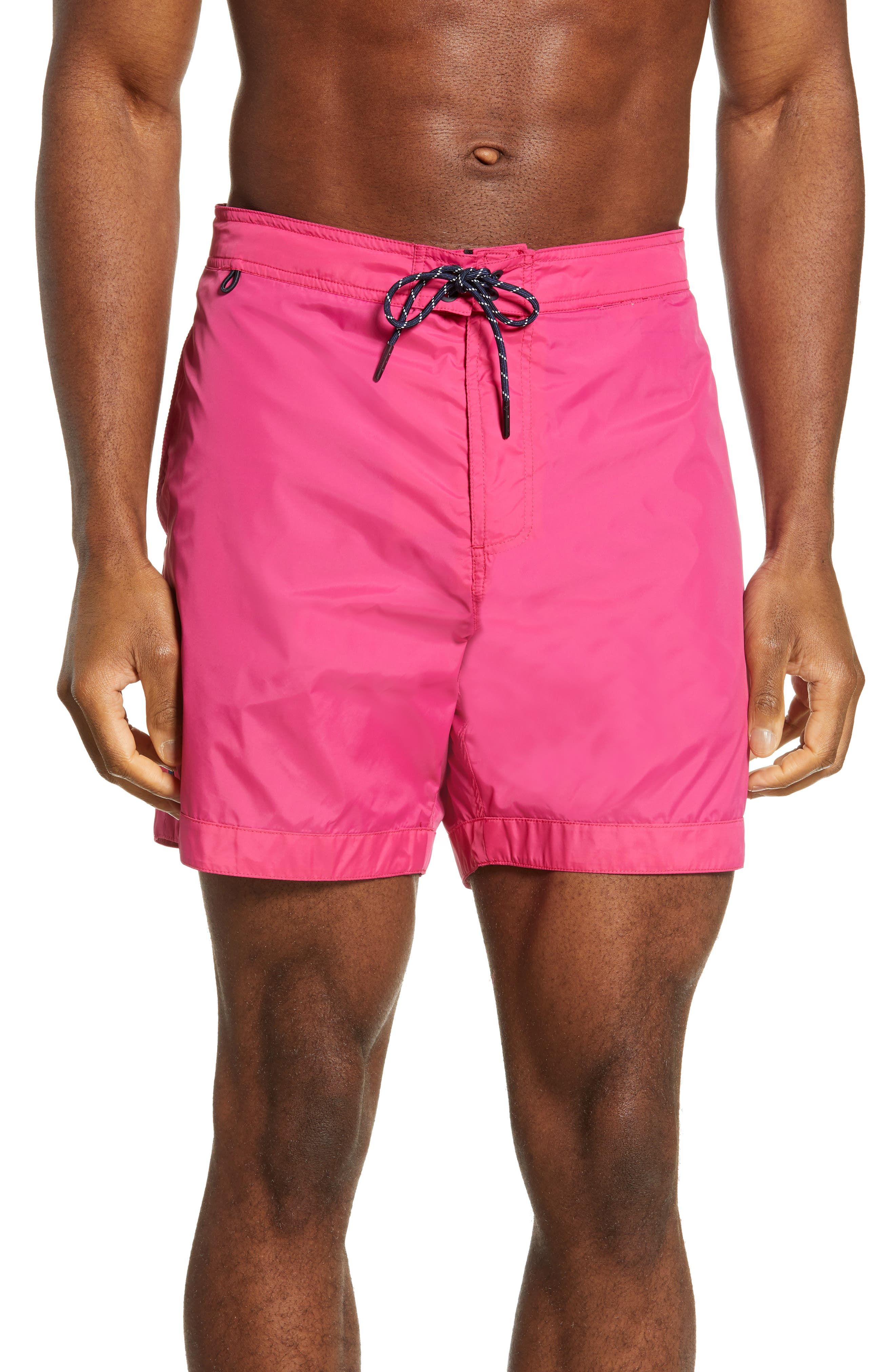 bbe4a3f58c Scotch & Soda Bermuda Bright Swim Trunks, Pink