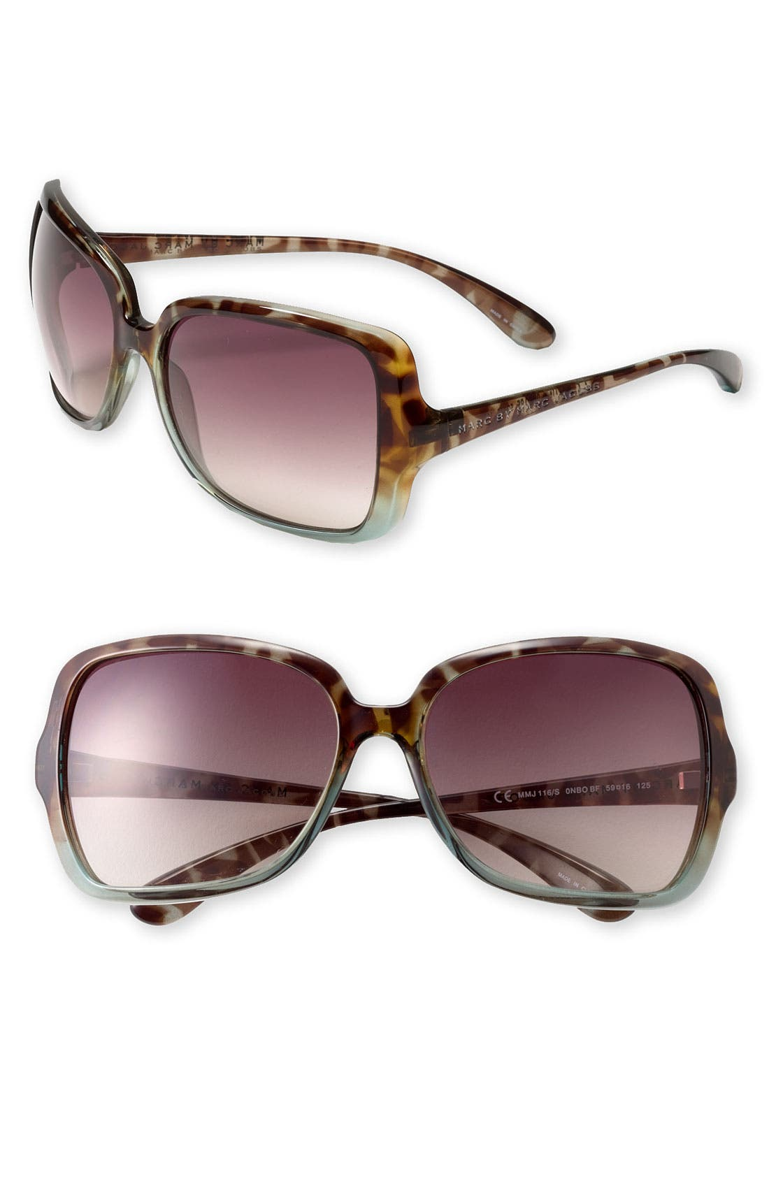 ,                             59mm Vintage Inspired Oversized Sunglasses,                             Main thumbnail 7, color,                             320