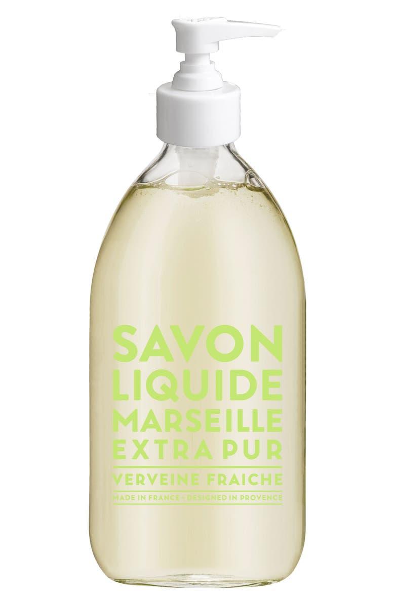 COMPAGNIE DE PROVENCE Fresh Verbena Liquid Marseille Soap, Main, color, NO COLOR
