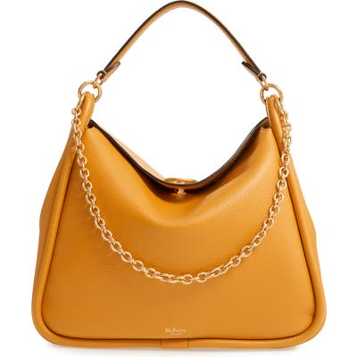 Mulberry Leighton Leather Hobo - Yellow