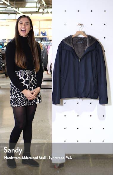 Glasgow Faux Fur Lined Jacket, sales video thumbnail