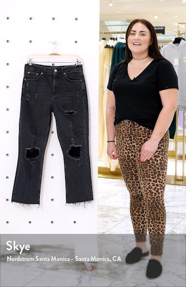 Ripped Straight Leg Jeans, sales video thumbnail