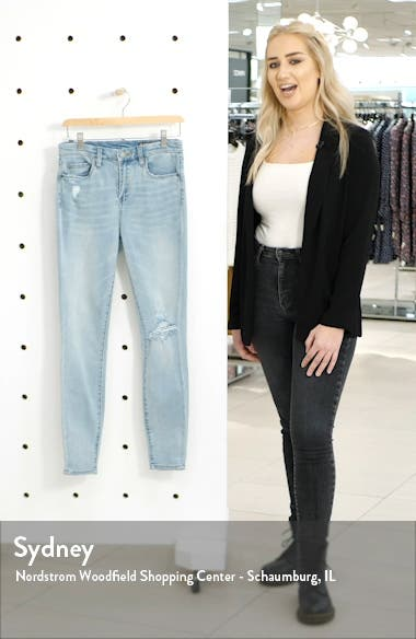 The Great Jones High Waist Ripped Jeans, sales video thumbnail
