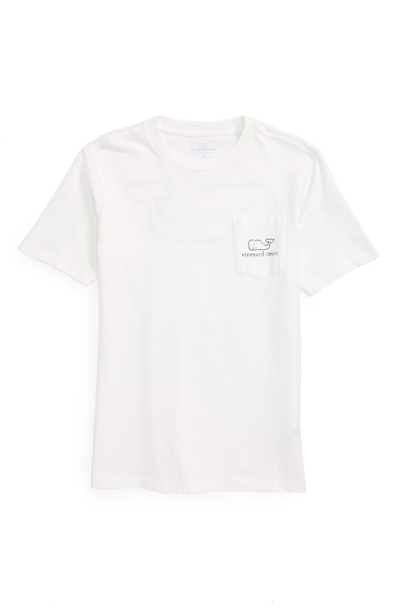 VINEYARD VINES Whale T-Shirt, Main, color, WHITE CAP