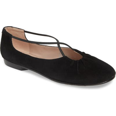 Taryn Rose Collection Alessandra Ballet Flat- Black