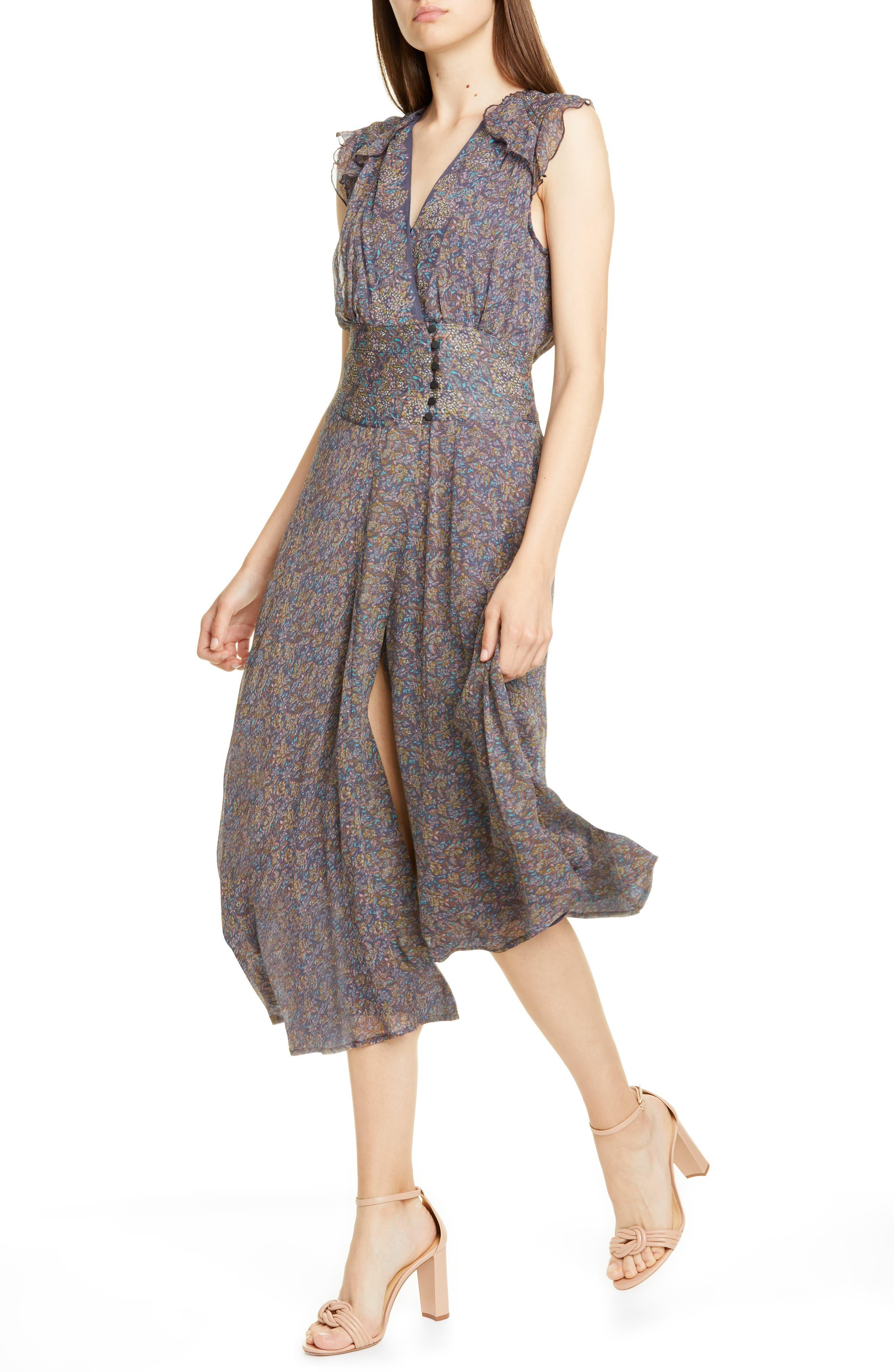 Ba & sh Meryl Floral Dress