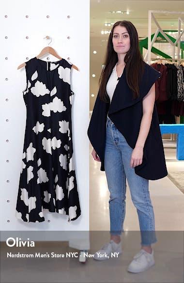 Nophella Drop Waist Silk Dress, sales video thumbnail