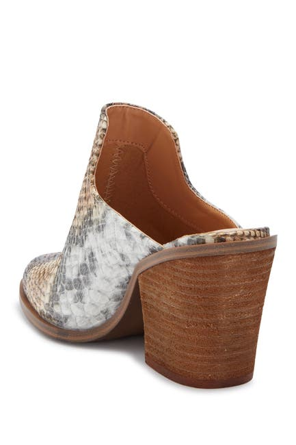 Image of Chinese Laundry Springfield Snake Embossed Mule