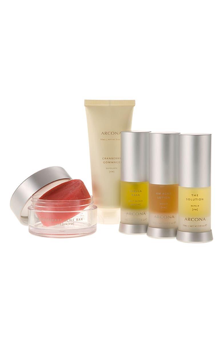 ARCONA 'Basic Five' Travel Kit for Problem Skin, Main, color, 000