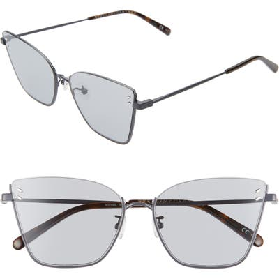 Stella Mccartney 5m Cat Eye Sunglasses - Dark Blue/ Green