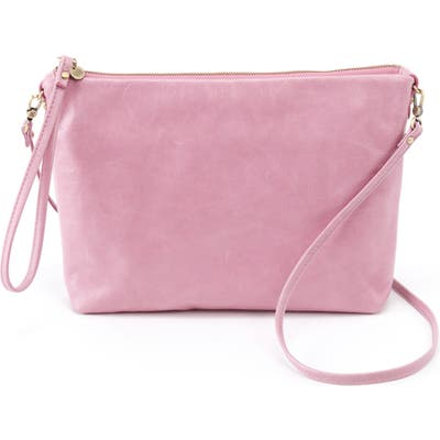 Hobo Kori Leather Convertible Crossbody Bag - Pink