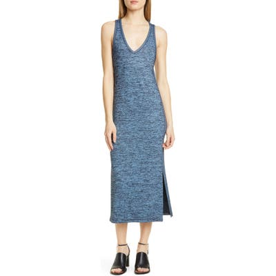Rag & Bone Ramona Jersey Midi Tank Dress, Blue