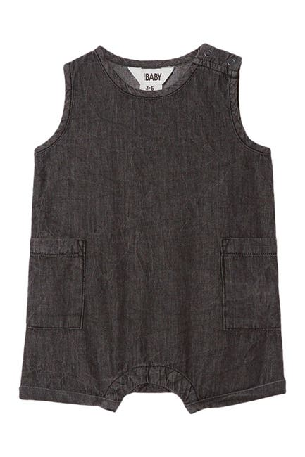 Image of Cotton On Tommy Chambray Romper