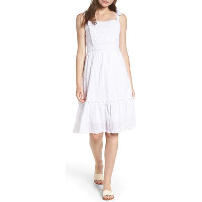 Cupcakes And Cashmere Tie Strap Dress, White
