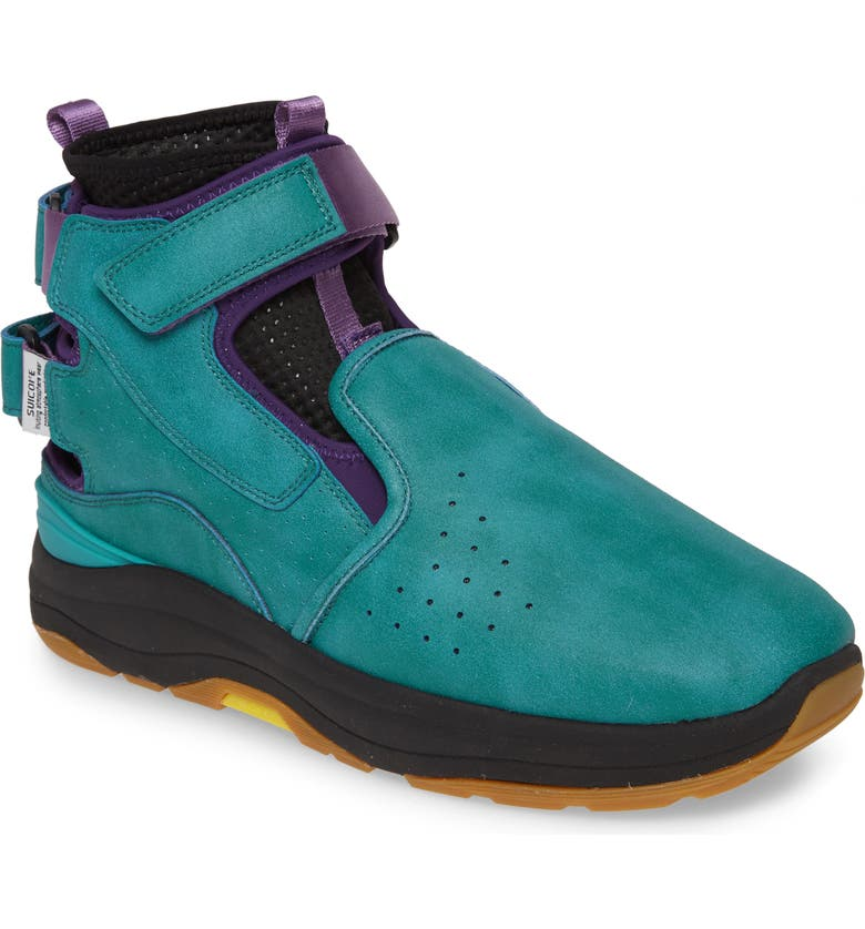 SUICOKE Vic Sneaker, Main, color, TURQUOISE