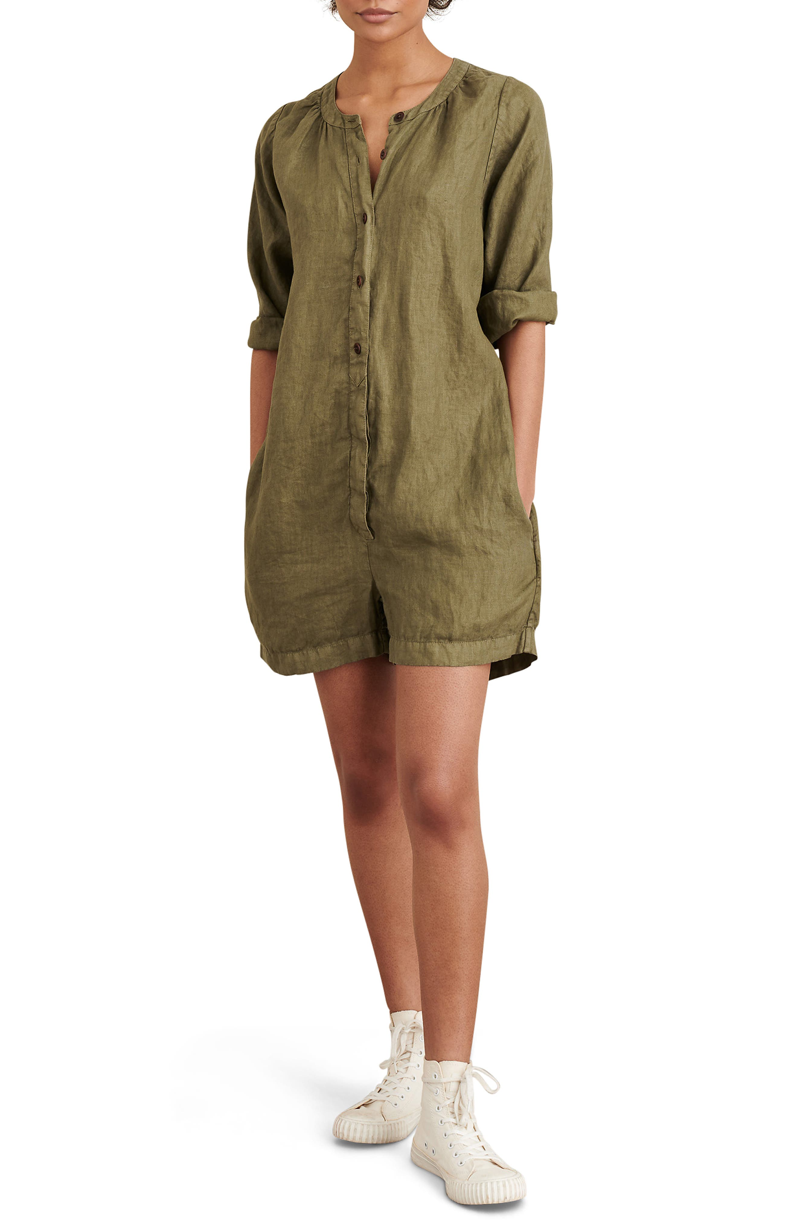 Image of ALEX MILL Linen Romper