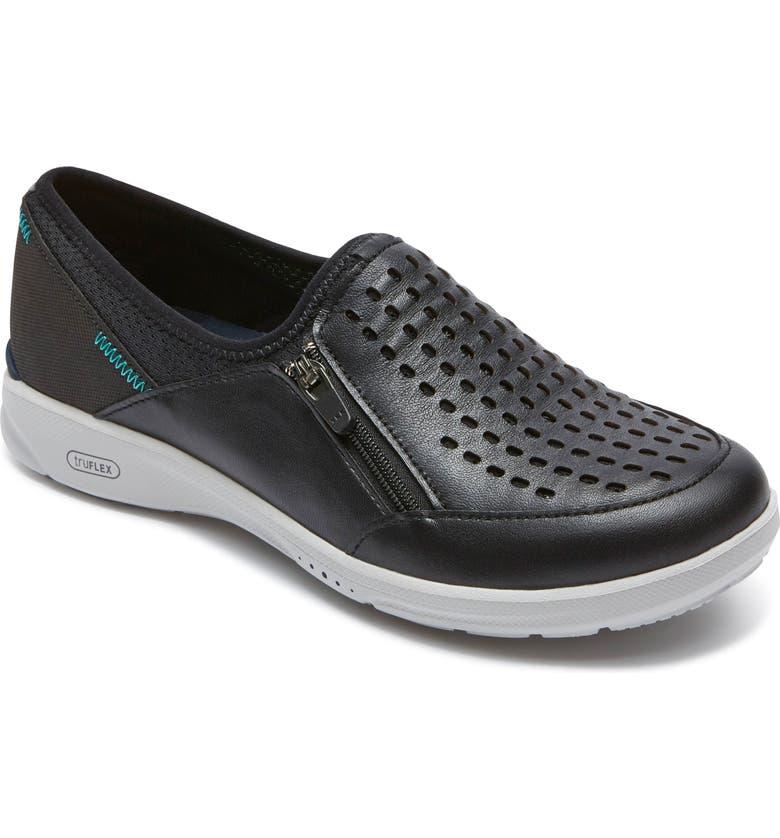 ROCKPORT truFLEX Slip-On Sneaker, Main, color, 001