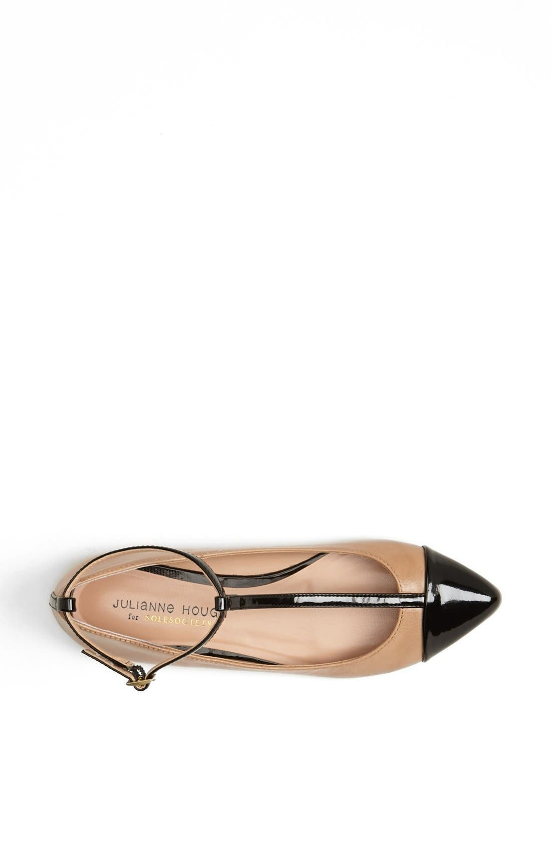 ,                             Julianne Hough for Sole Society 'Addy' Flat,                             Alternate thumbnail 20, color,                             102