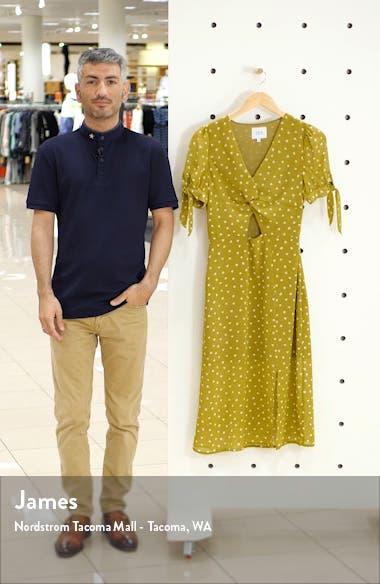 J.O.A Twist Front Midi Dress, sales video thumbnail