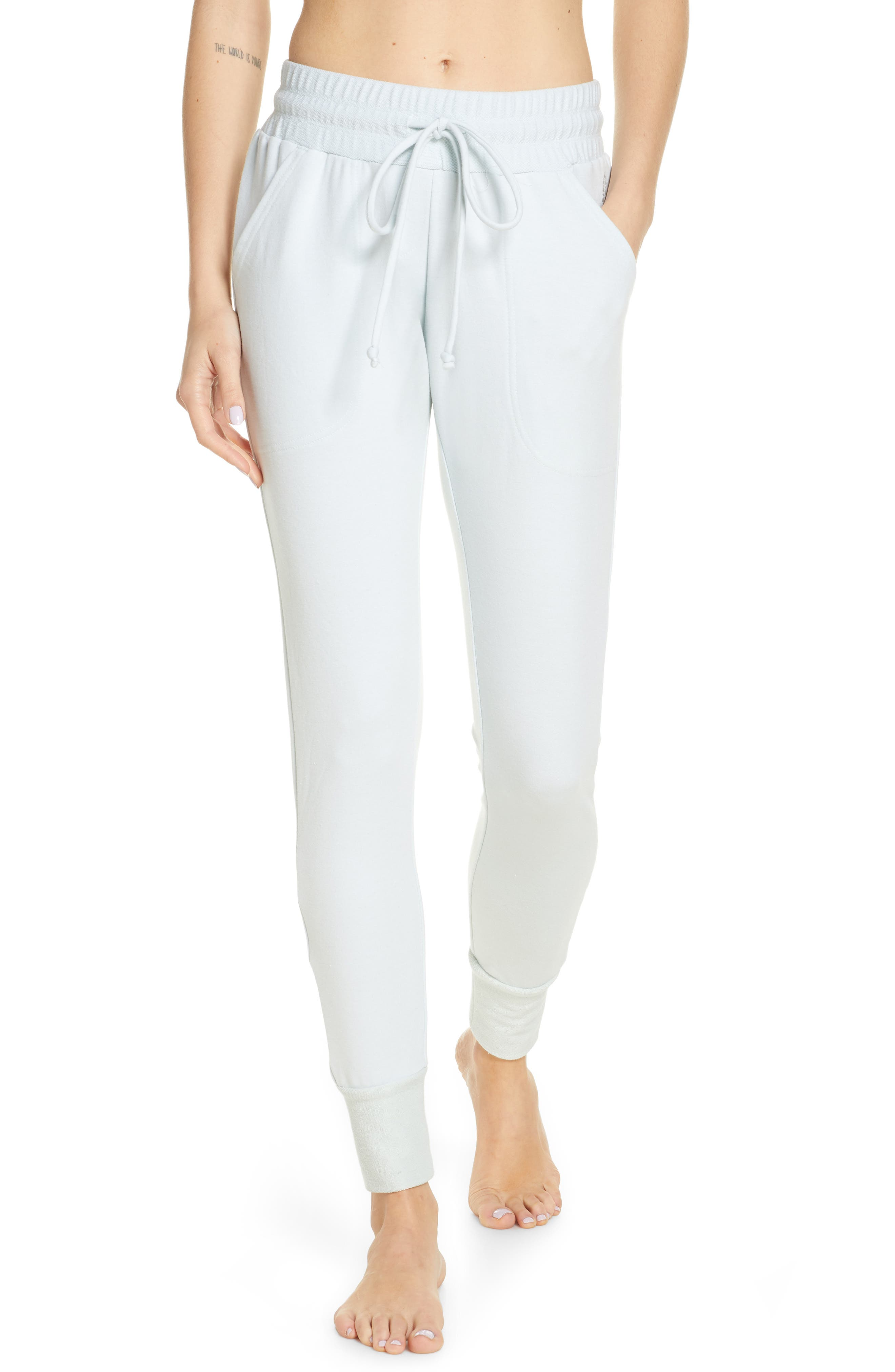 Women's Free People Fp Movement Sunny Skinny Sweatpants,  Medium - Blue