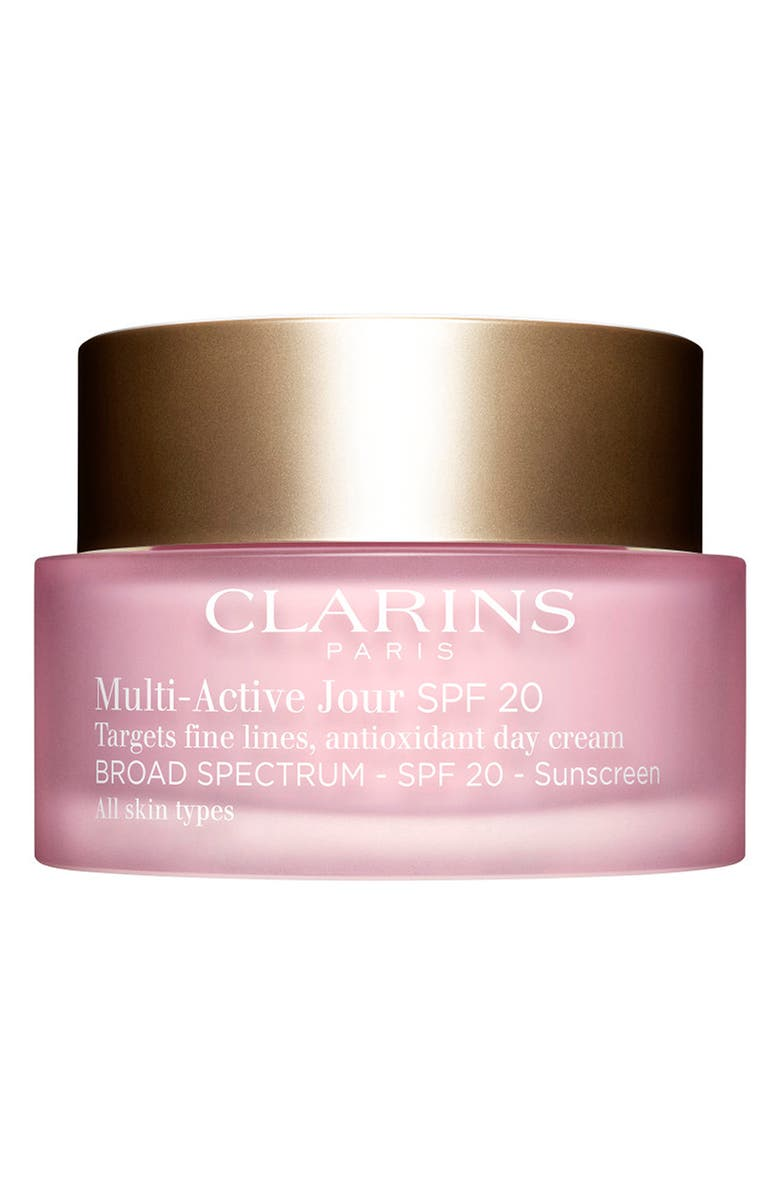CLARINS Multi-Active Day Cream SPF 20, Main, color, NO COLOR
