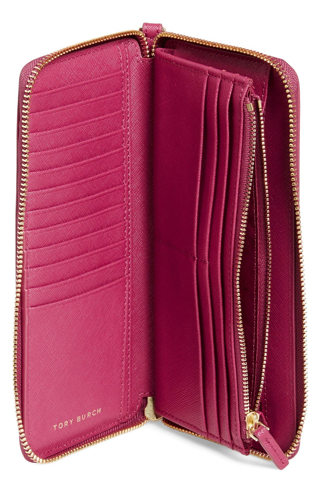 ,                             'York' Leather Continental Wallet,                             Alternate thumbnail 36, color,                             650