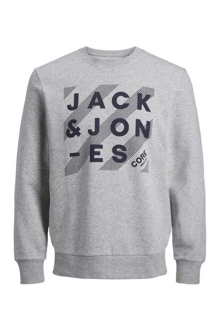 Image of JACK & JONES Hero Graphic Crew Neck Sweatshirt