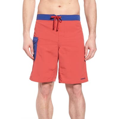 Patagonia Wavefarer Board Shorts, Red