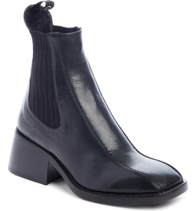 CHLOÉ Bea Chelsea Boot, Main, color, BLACK