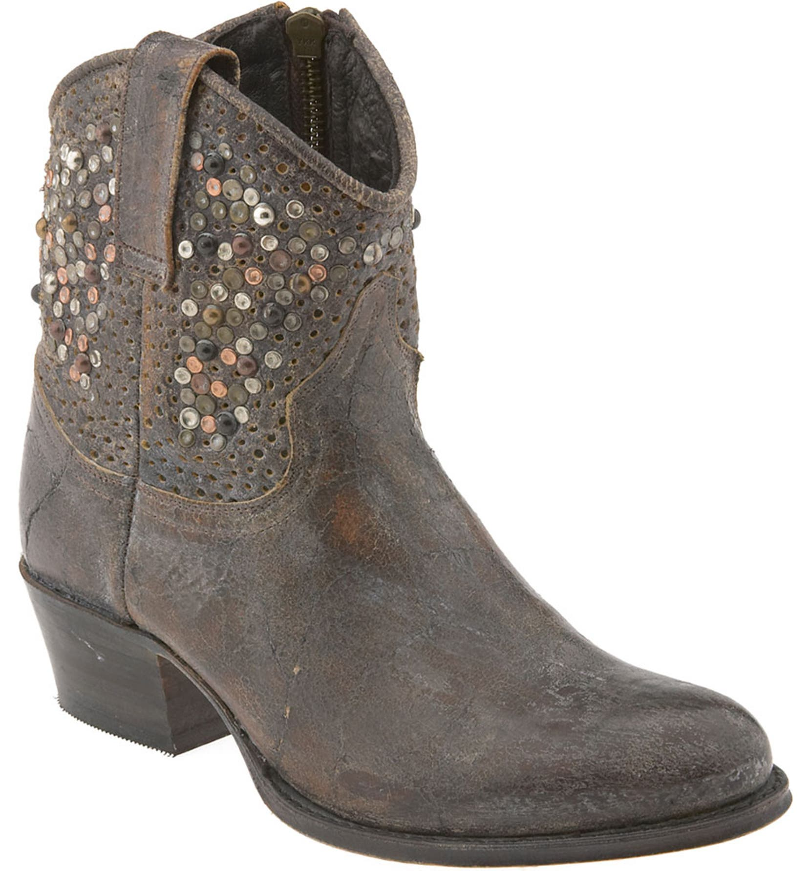 cd72d8e4fb0 Frye 'Deborah' Studded Ankle Boot | Nordstrom