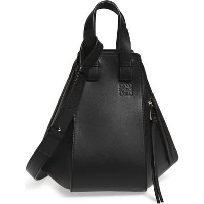 Loewe Hammock Small Leather Hobo - Black