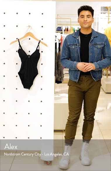 Back Cutout Maillot One-Piece Swimsuit, sales video thumbnail