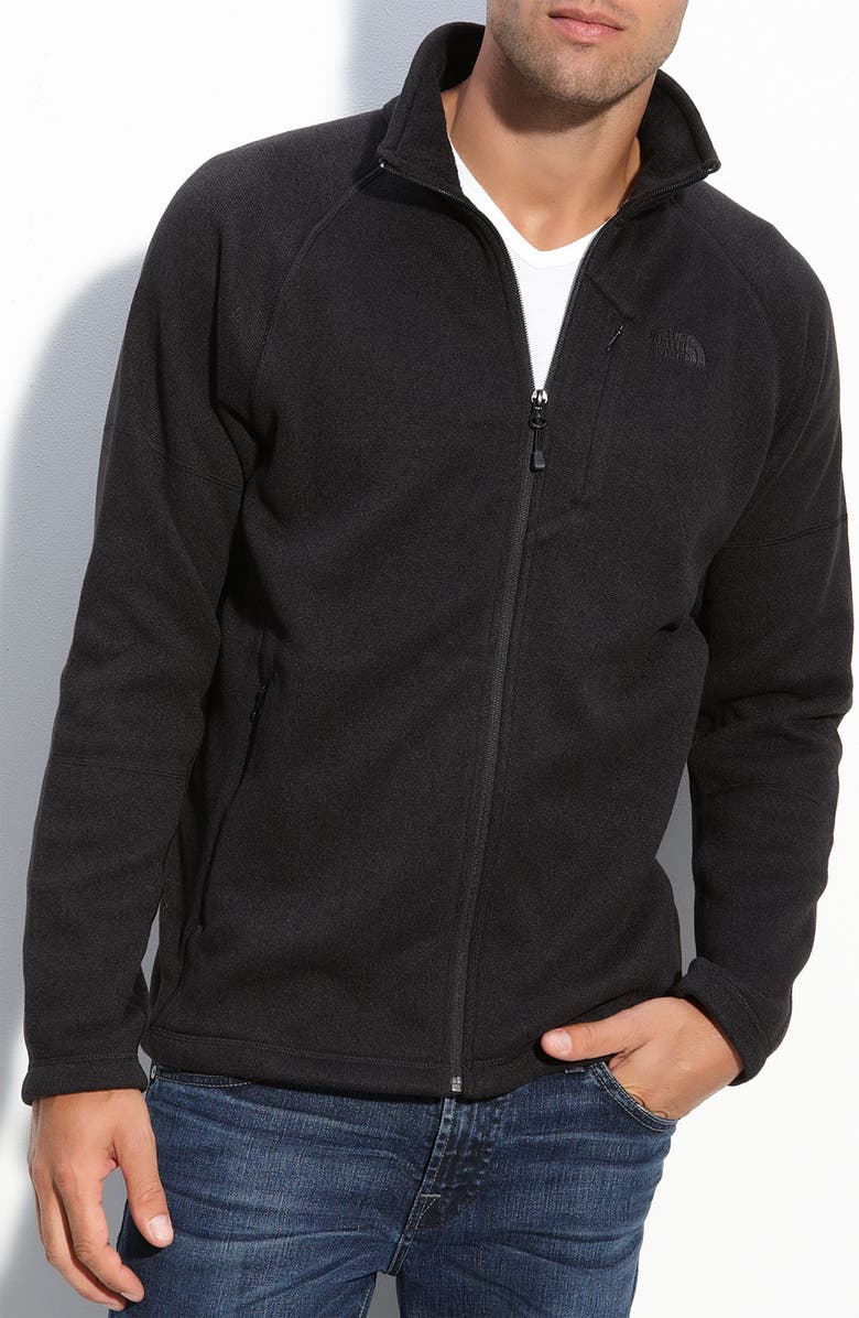 973b6826e 'Gordon Lyons' Full Zip Marled Fleece Jacket
